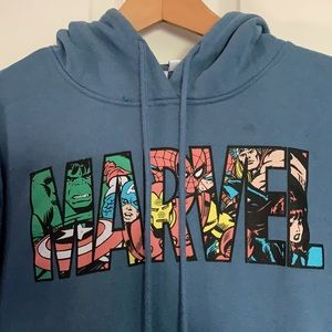 Marvel blue hoodie